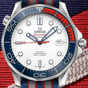 Omega, James Bond i Royal Navy
