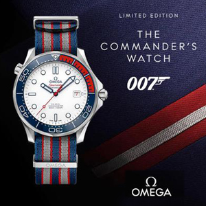 Omega, James Bond i The Commander's Watch
