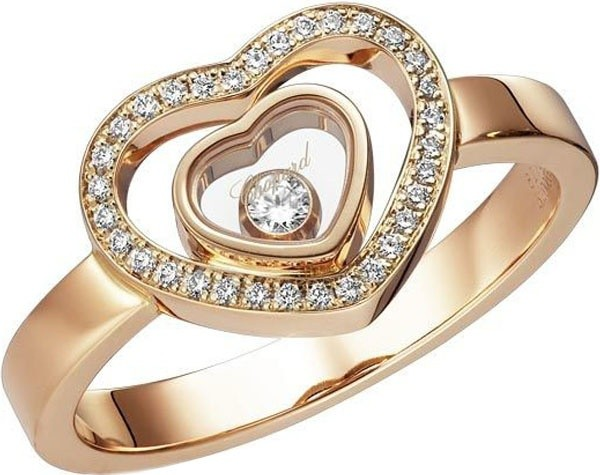 Chopard Happy Hearts Pierścionek 827691-5019