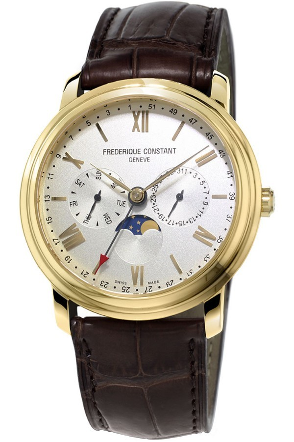 F. Constant Classics Business Timer Moonphase FC-270SW4P5
