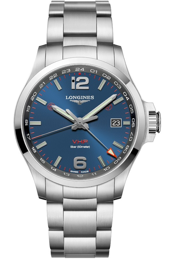 Longines Conquest V.H.P. GMT L3.728.4.96.6