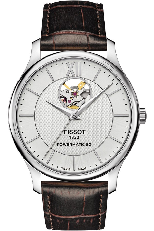 Tissot Open Heart Tradition Powermatic 80 T063.907.16.038.00