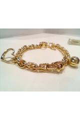 Złota bransoleta 6