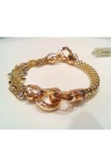 Złota bransoleta 7