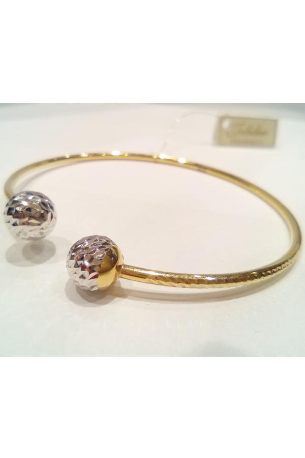 Złota bransoleta 9