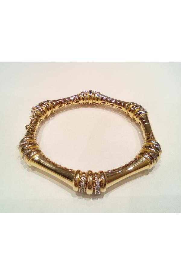 Złota bransoleta 13