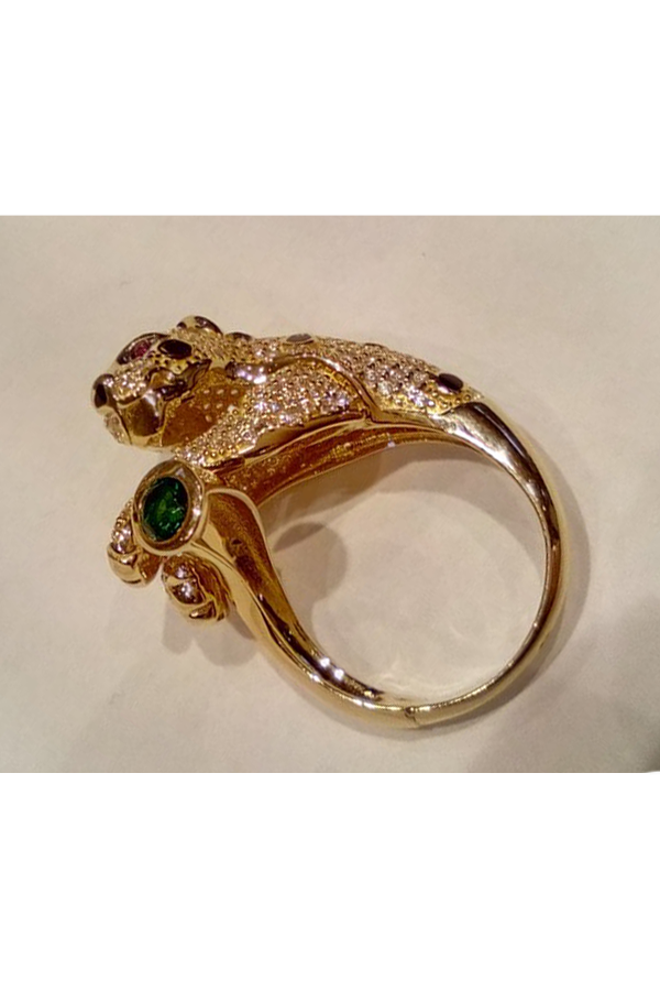 Złoty pierścionek 1