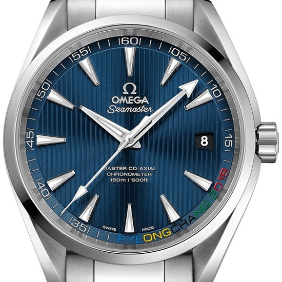 Omega Seamaster Aqua Terra Olympic 522.10.42.21.03.001