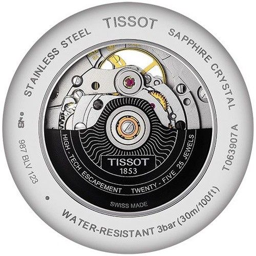 Tissot Open Heart Tradition Powermatic 80 T063.907.11.038.00